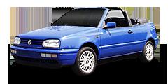 Golf Cabriolé (1E, 1EX0) 1993 - 1998