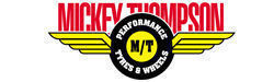 Tyres Mickey Thompson car