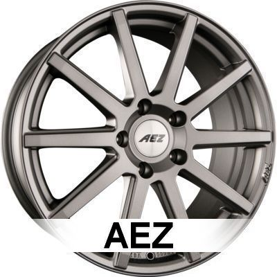 AEZ Straight Dark 9.5x19 ET25 5x112 70.1 H2