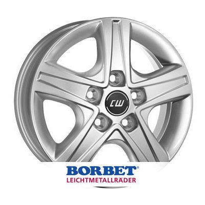 Borbet CWD 7x17 ET55 5x120 65.1