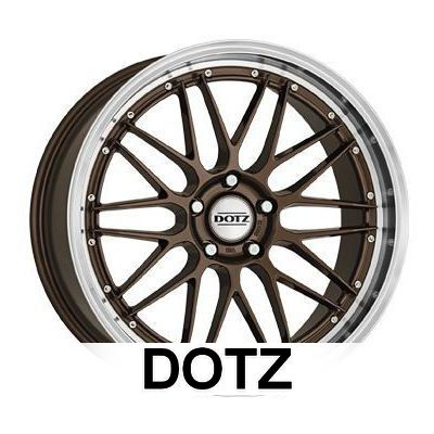alloy wheels dotz revvo et35 5x114 3 71 6 bronze. Black Bedroom Furniture Sets. Home Design Ideas