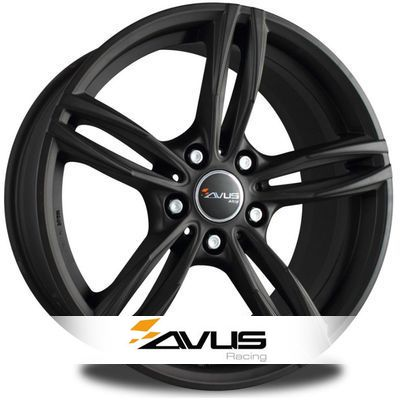 alloy wheels avus ac mb3 matt black n 3051 tyre leader. Black Bedroom Furniture Sets. Home Design Ideas