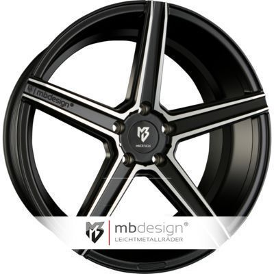 MB Design KV 1 8.5x19 ET43 5x108 75