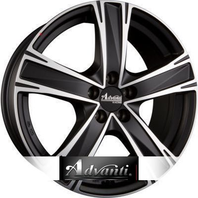 Advanti Racing Raccoon 7.5x17 ET45 5x114.3 72.6 H2