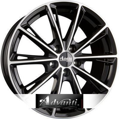 Advanti Racing Predator 7.5x17 ET45 5x114.3 72.6