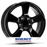 Borbet TB 7.5x16 ET45 5x112 66.5