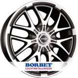 Borbet XA 9x20 ET37 5x120 72.6 H2