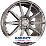Borbet Design GTX 8.5x20 ET25 5x120 72.5