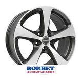Borbet CC 8.5x18 ET30 5x112 72.5