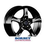 Borbet F 6x15 ET45 5x108 72.5