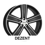 Dezent TH DARK SUV 7x16 ET43 5x118 71.1