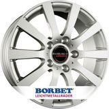 Borbet C2C 7.5x17 ET35 5x127 71.6