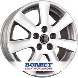 Borbet CA 6.5x15 ET45 4x100 64