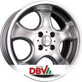 DBV Tahiti 5.5x13 ET38 4x100 63.3