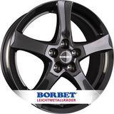 Borbet F 6x15 ET43 5x112 72.5