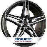 Borbet XRT 8.5x20 ET35 5x120 72.5