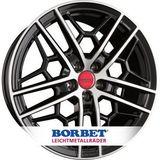Borbet Design GTY 8.5x19 ET30 5x112 72.5