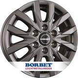 Borbet Design CW6 6.5x16 ET62 6x130 84.1 H2