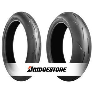Bridgestone Battlax Racing R10 EVO 180/55 ZR17 73W Arrière, Medium-Hard, TYPE 2