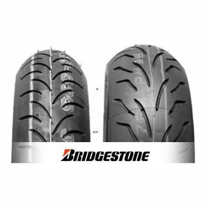 Bridgestone Battlax Scooter 100/80-10 53J DOT 2017, SC1, Trasero