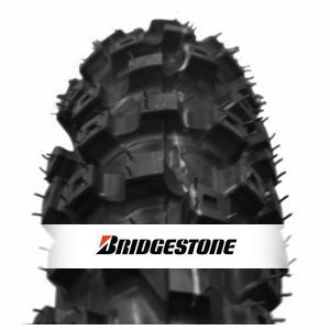 Bridgestone Battlecross X40 120/80-19 63M TT, NHS, Hard, Trasero