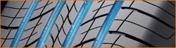 Rille mit 4 geraden Kanälen