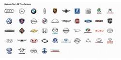 Erstausstattung vieler Hersteller