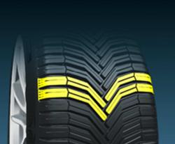 Ein einzigartiges Reifenprofil