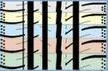 La Variation Cinq Emplacements du motif de la bande de roulement veille au silence