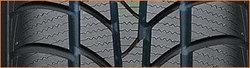 Breite Reifenlauffläche