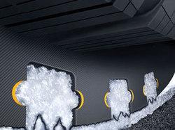 Technologie Snow Curve+ pour une maniabilité parfaite sur routes enneigées